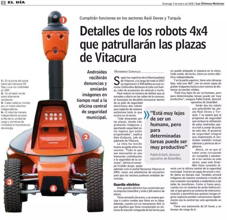 Robot Vitacura Ingesmart