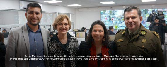 Safe City Providencia Ingesmart