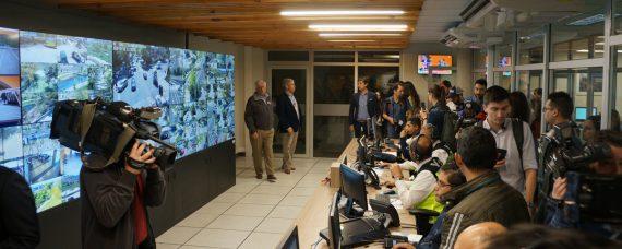 Sala control Safe City Vitacura Ingesmart